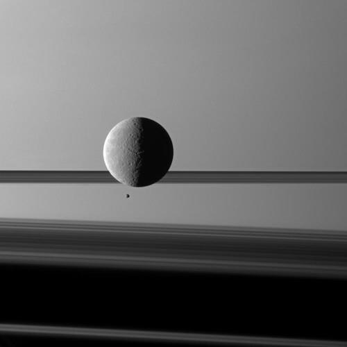 Rhéa devant Saturne