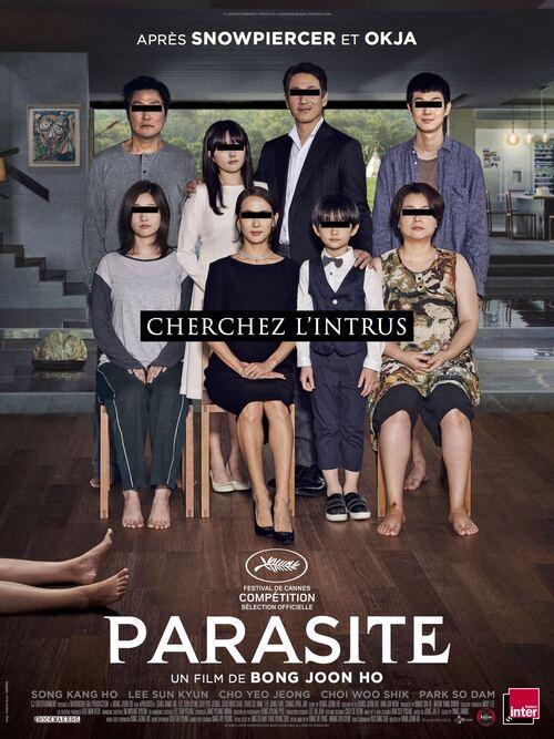 PARASITE réalisé par Bong Joon ho en compétition au festival de Cannes ! Le 5 juin 2019 au cinéma