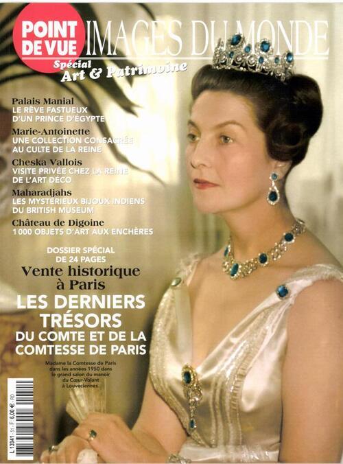 Vente des objets du Comte et de la Comtesse de Paris