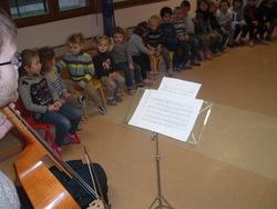 Présentation d'instruments à vent