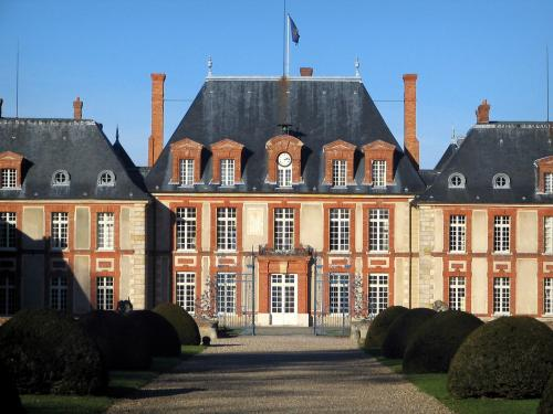Château de Breteuil à Choisel (Yvelines)