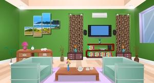 Jouer à Green drawing room escape