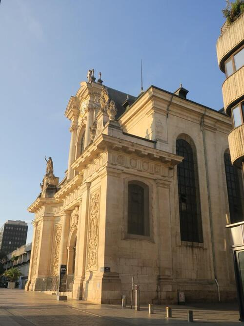 L'église Saint-Sébastien à Nancy