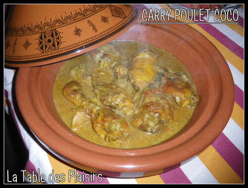 CARRY POULET COCO
