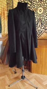 Manteau laine doublé