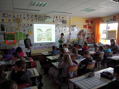 Présentation de Paris aux autres classes
