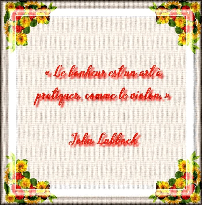 Citations et Proverbes 4:  Citation de John Lubbock - Apprendre en accéléré + texte