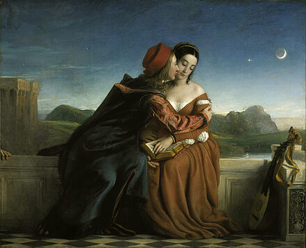 Francesca da Rimini by William Dyce