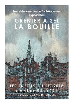 Exposition à La Bouille - Seine-Maritime