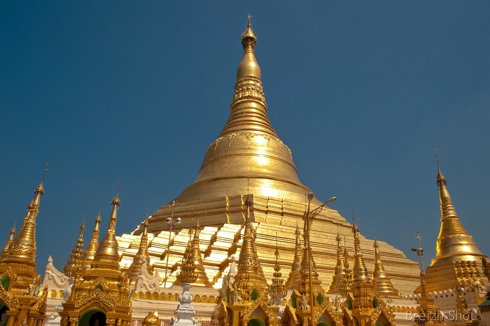 Shwedagon - stupa central