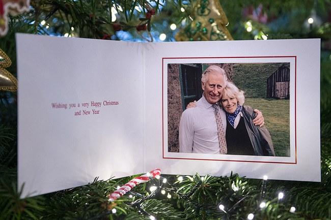 Carte de Charles et Camilla