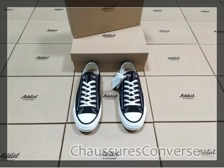 converse noir homme sneakers addict