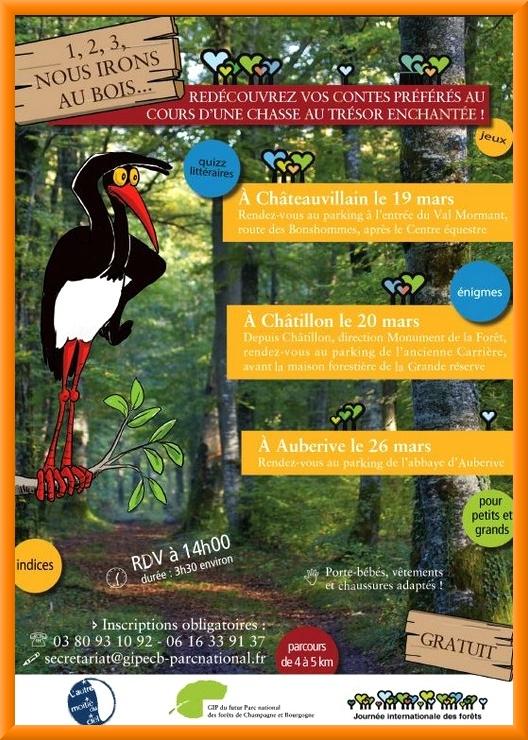 """Inscrivez vous à la """"chasse au Trésor"""" organisée par le futur Parc entre Champagne et Bourgogne !"""