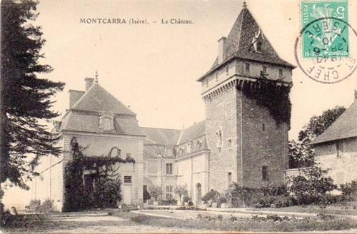 Montcarra (38), Etang de Gôle.