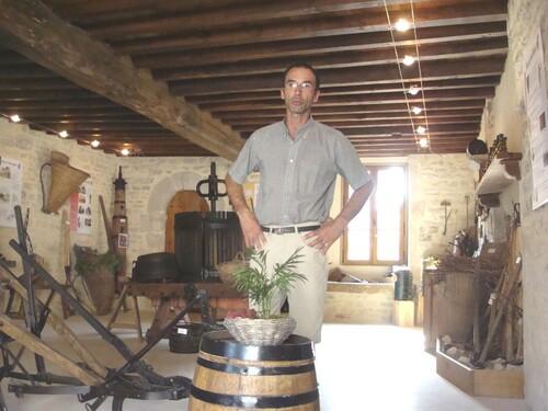 De la vigne au vin avec Sylvain Bouhélier...