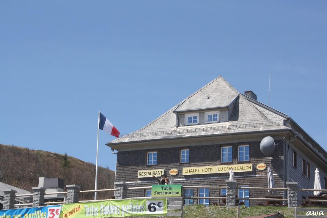 Carte de France de Canelle : Alsace 5 : Grand Ballon ou Ballon de Guebwiller