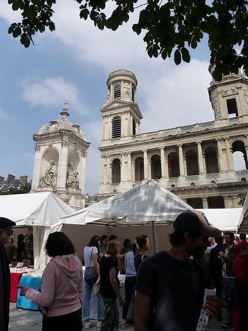 Marché de la poésie. Paris. Juin 2018