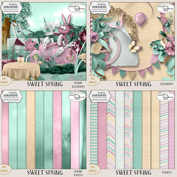 Sweet spring { PU Full Pack} by Sarayane
