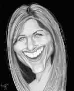 Symétrie portrait caricature