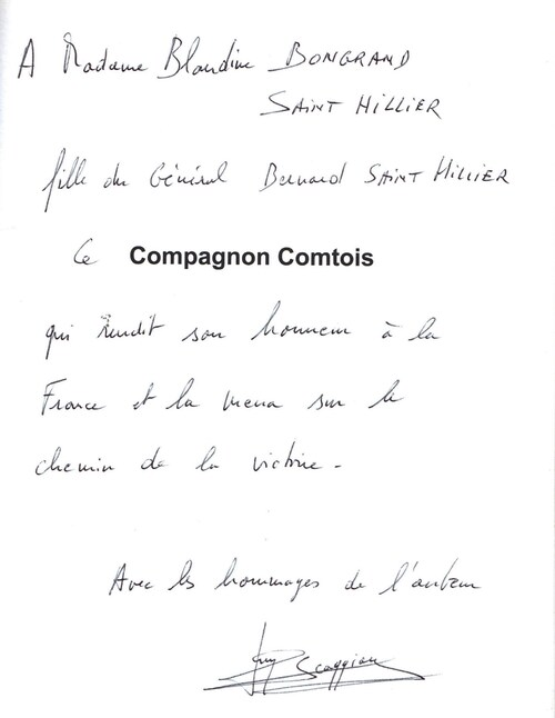 "FRANCE LIBRE - ""Compagnon comtois"" - Rends toi ! -Nenni...ma foi !"", par Guy Scaggion"