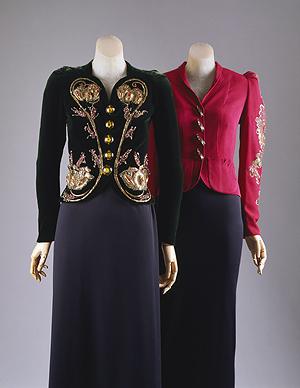 Elsa Schiaparelli, Couturière de la Haute Couture.... années 30