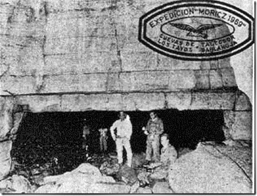La grotte de Los Tayos