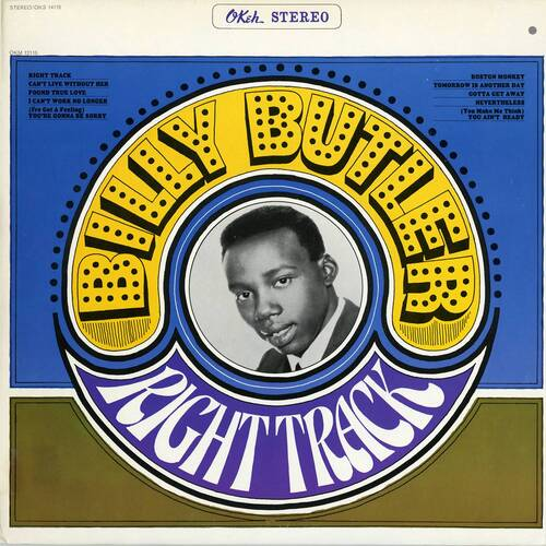 "Billy Butler : Album "" Right Track "" Okeh Records OKS 14115 [ US ]"