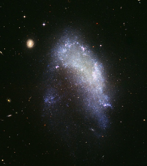les 3 grands types de galaxies
