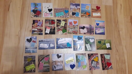 Les cartes de l'Avent pour Fabienne