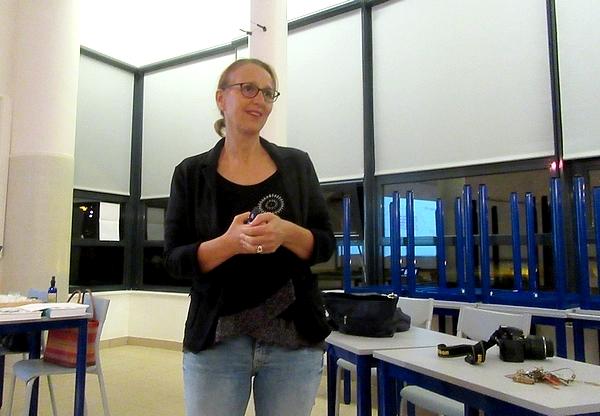 Une conférence passionnante sur les huiles essentielles a eu lieu au lycée de la Barotte
