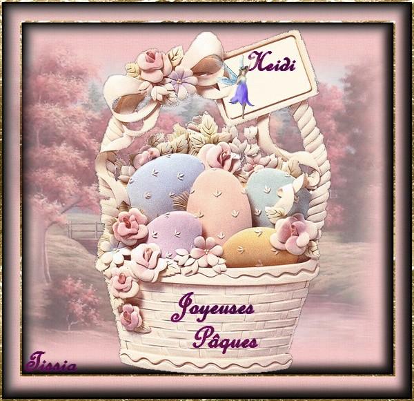 joyeuses Pâques heidi