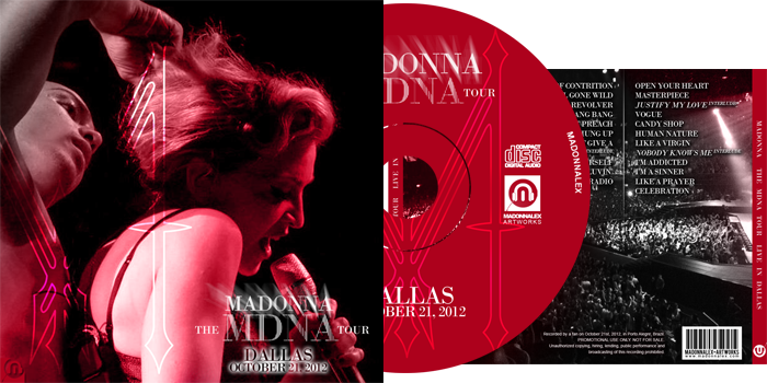 The MDNA Tour - Audio Live in Dallas