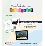 Vocabulaire en maternelle - outil génération 5