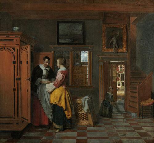"""Rétrospective """"Pieter De Hoock"""" à Delft"""