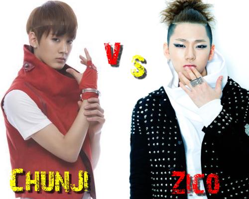Chun Ji (Teen Top) vs Zico (Block B) - Round 4
