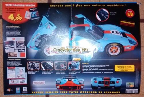 N° 1 Construisez la Ford GT - Test