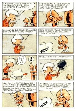 Peyo : Pierrot et la lampe