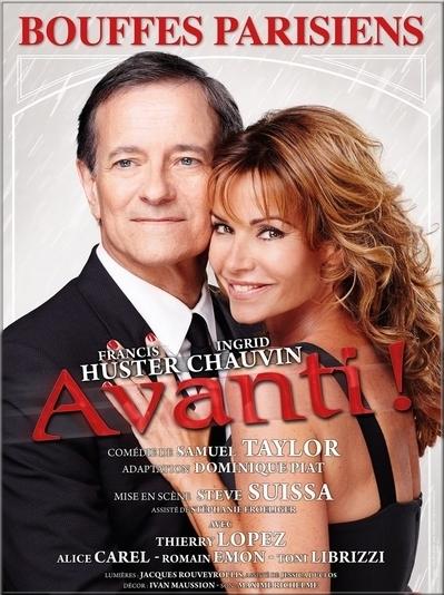"Au théâtre - "" Avanti ""  (F. Huster , I. Chauvin )"