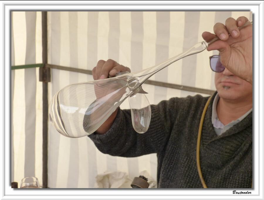 Tournon st Pierre -Souffleur de verre
