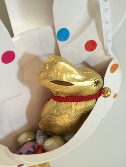Panier-lapin de Pâques