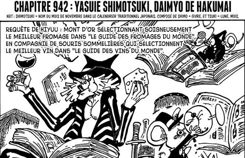 One Piece Scan chapitre 942 en VF Version Française - Lecture en Ligne