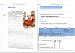 Lecture/Compréhension