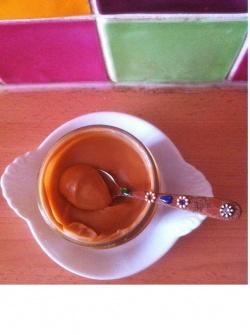 Salidou : crème caramel au beurre salé