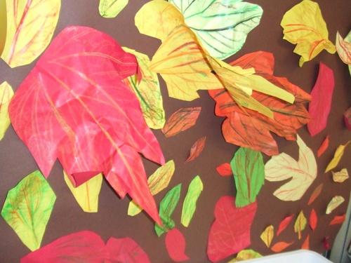 Maternelle - arts visuels - autour de l'escargot et de l'automne