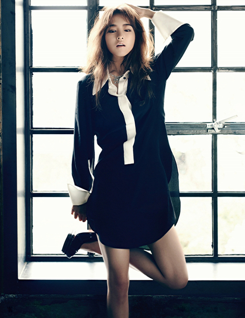 Park Bo Young pour Harper's Bazaar