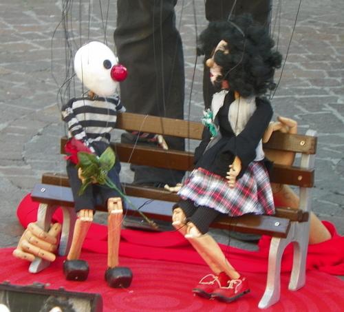 Artistes de rue à Annecy