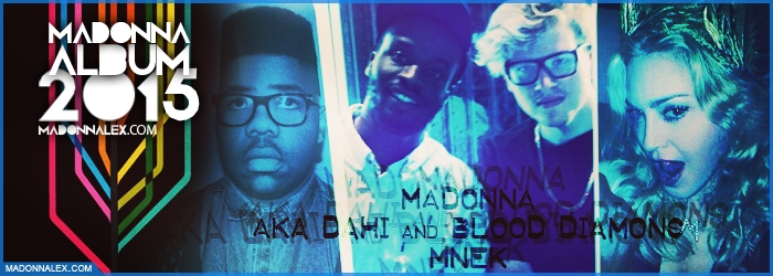 Madonna Album 2015 MNEK Aka Dahi Blood Diamons