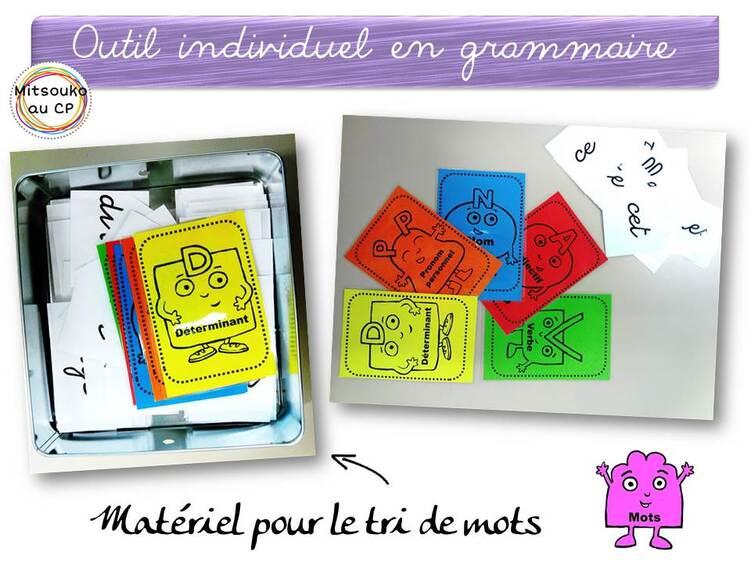 Etiquettes pour la grammaire d'après RSEEG de Retz