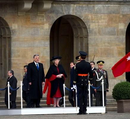 Beatrix et le président