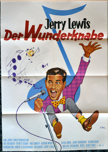 JERRY SOUFFRE DOULEUR (The patsy) - JERRY LEWIS BOX OFFICE 1964